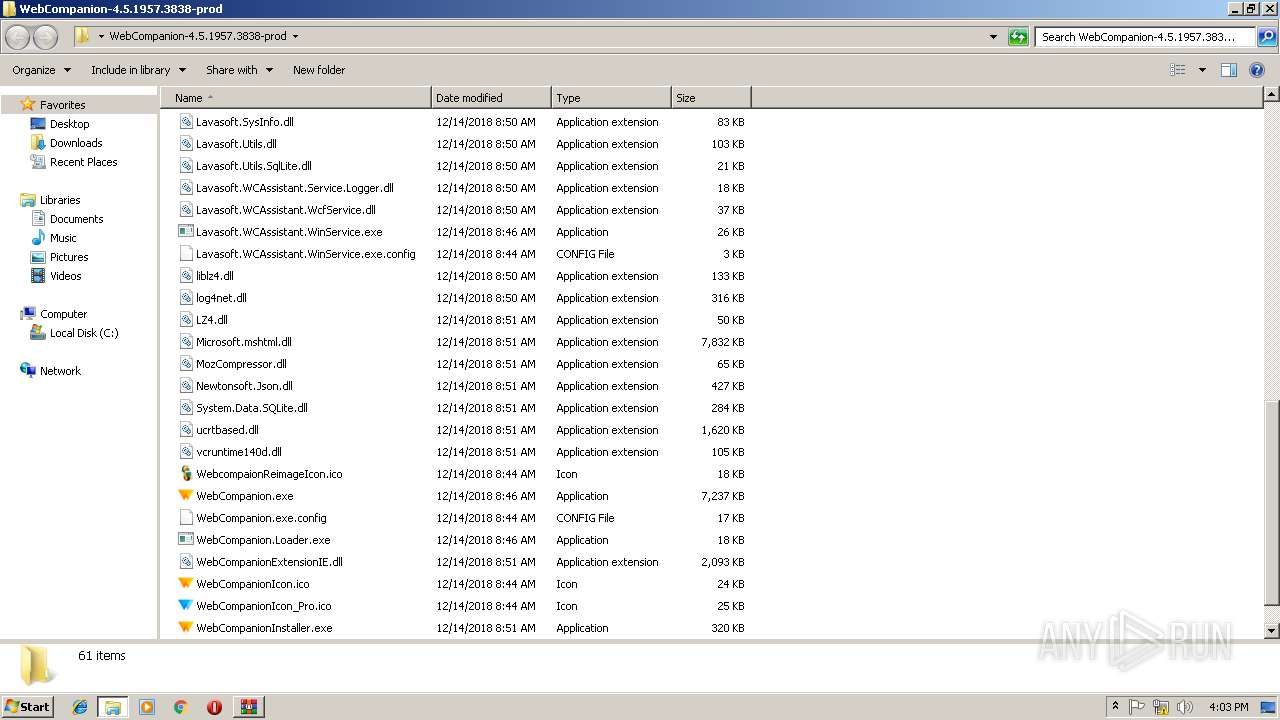 Screenshot of ecd3d5601df8d7e443f8169e076b6284fb261e30288246ecb2e3549f64929a89 taken from 134765 ms from task started