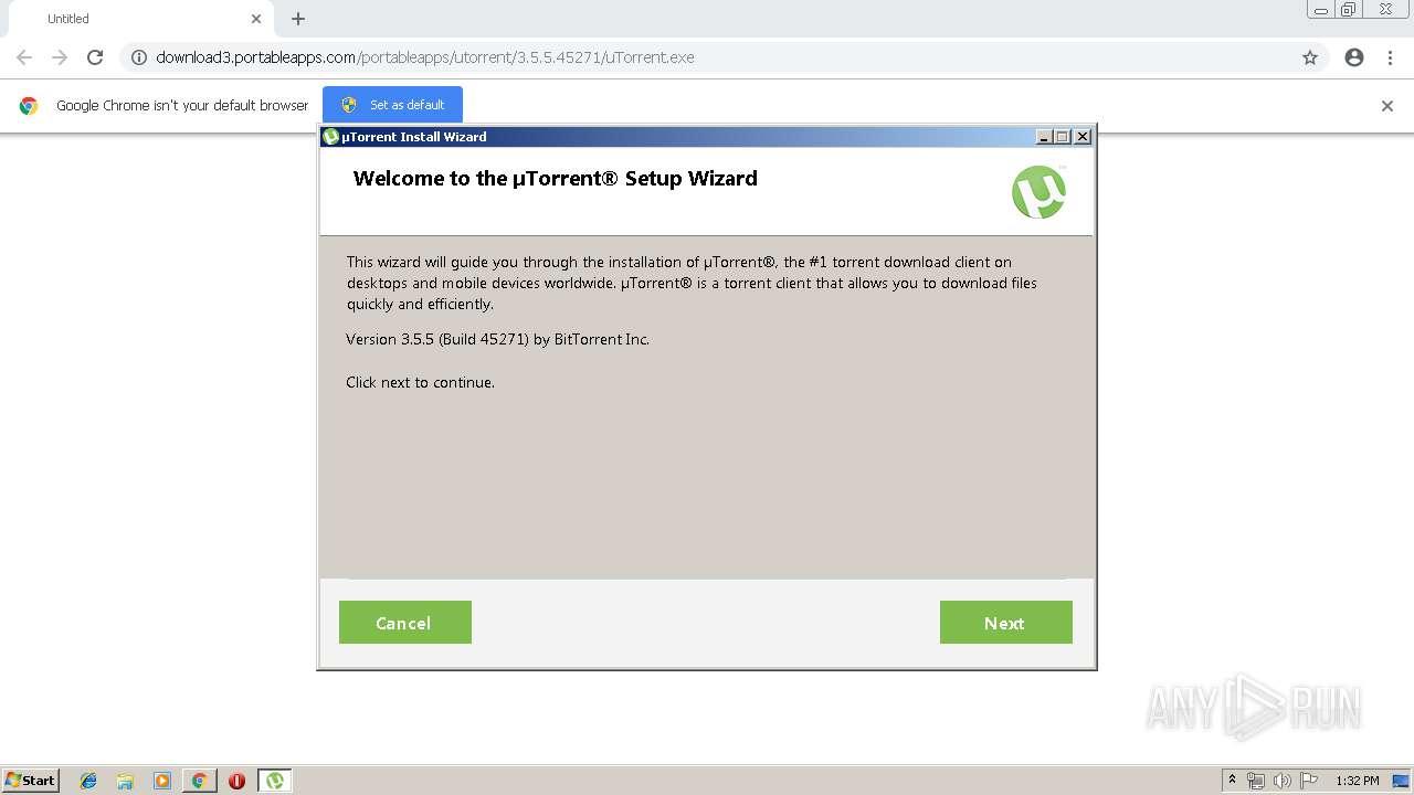 http://download3 portableapps com/portableapps/utorrent/3 5 5 45271