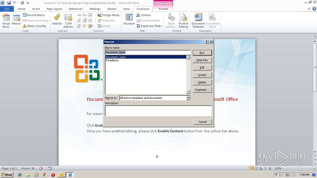 Screenshot of db72891704c609cb295db1756e664dff03ec3c2de7e54a1a7add449a44addb5a taken from 174899 ms from task started
