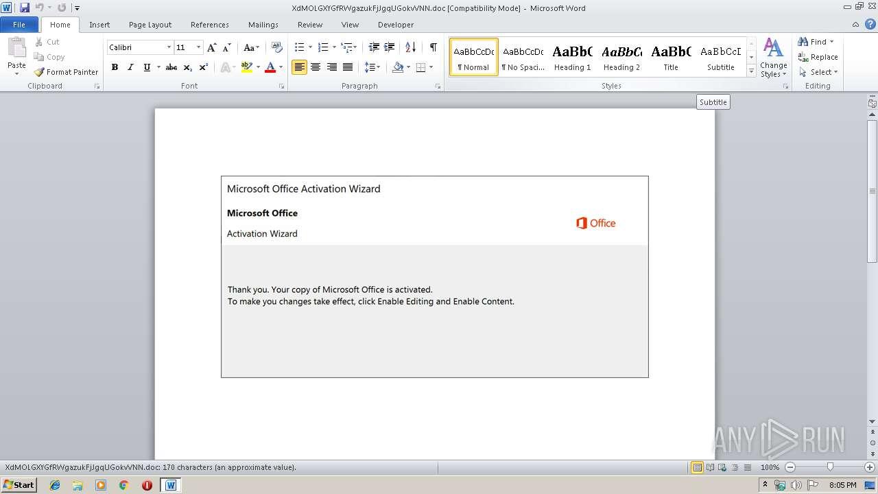 Screenshot of 8fd04ce2418fc4baf9ebde360fa250cbafad34dd67dea5afe4f317779679dff2 taken from 26197 ms from task started