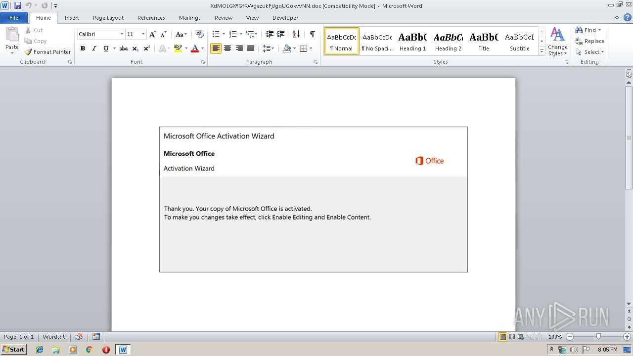 Screenshot of 8fd04ce2418fc4baf9ebde360fa250cbafad34dd67dea5afe4f317779679dff2 taken from 44735 ms from task started