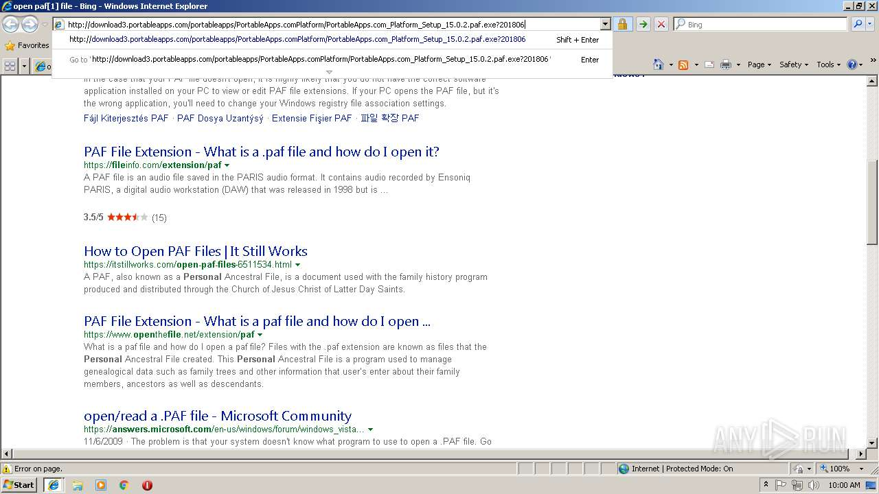 Screenshot of unknown taken from 111006 ms from task started