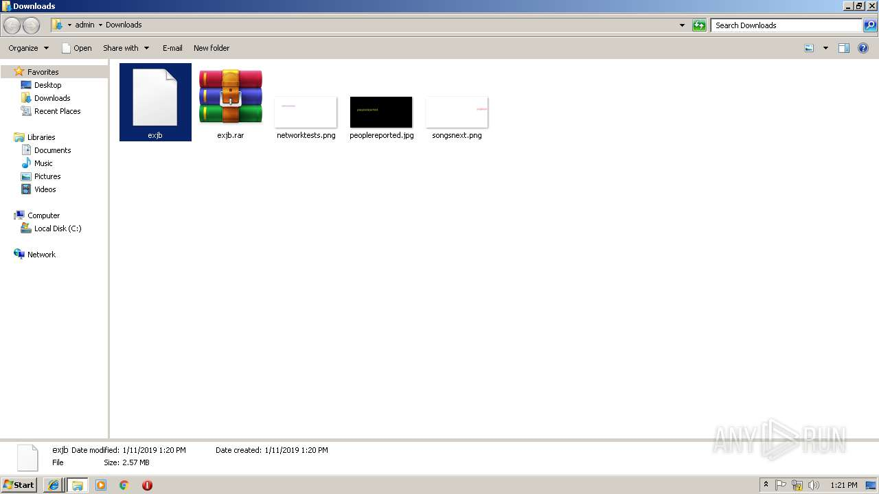 Screenshot of unknown taken from 121066 ms from task started