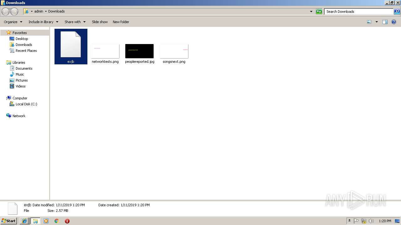 Screenshot of unknown taken from 97867 ms from task started