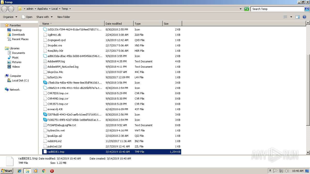 Screenshot of unknown taken from 209239 ms from task started